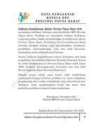 Indikator Kesejahteraan Rakyat Provinsi Papua Barat 2016_2 - Page 4