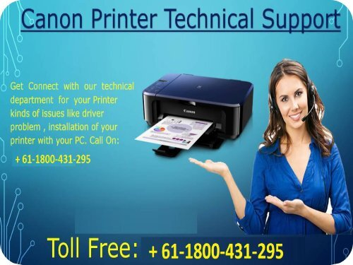 Canon printer support helpline number australia + 61-1800-431-295 Canon printer support helpline number Australia + 61-1800-431-295