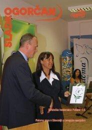 Časopis Sladkogorčan, september 2006 - Paloma dd