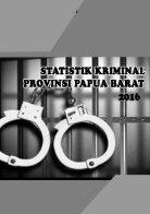 Statistik Kriminal Provinsi Papua Barat 2016_2 - Page 2