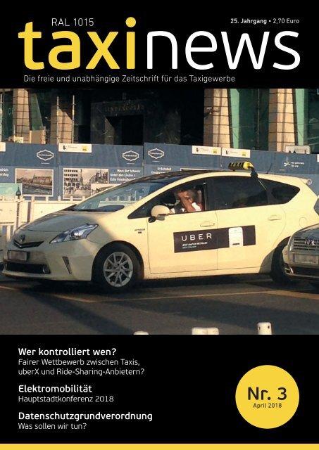 RAL1015 taxi news Heft 03-2018