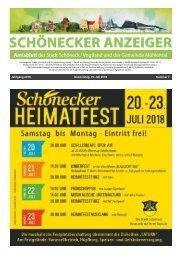 Schönecker Anzeiger Juli 2018