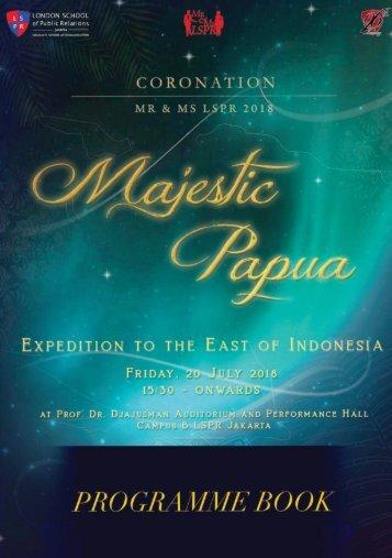 Programme Book Mr&Ms LSPR 2018