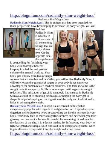http://blogmium.com/radiantly-slim-weight-loss/