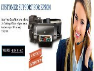 Call +1(888) 211-0387 fix Epson Printer Error W-13 Code by Epson printer support number