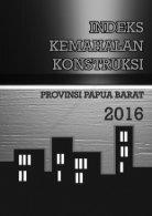 Indeks Kemahalan Konstruksi Provinsi Papua Barat 2016 - Page 2