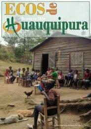 Revista Ecos Huauquipura 2016