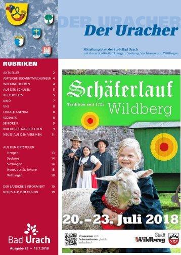 Der Uracher KW 29-2018