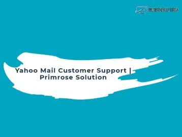 Yahoo Customer Support Service | Yahoo Help Center