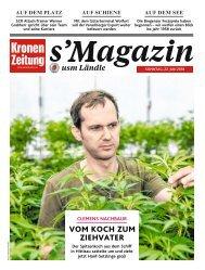 s'Magazin usm Ländle, 22. Juli 2018