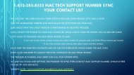 Abolish All Tech Issues (1-833-283-8333) MAC Customer Support Number