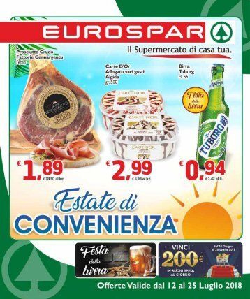Eurospar S.Gavino 2018-07-12