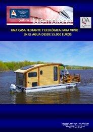 UNA CASA FLOTANTE Y ECOLÓGICA PARA VIVIR EN EL AGUA DESDE 55.000 EUROS - Nauta360