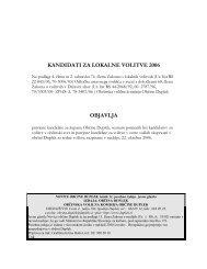 kandidati za župana - Duplek