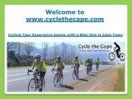 Bike Hire in Cape Town