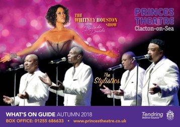 Princes Theatre, Clacton - Autumn 2018 Brochure