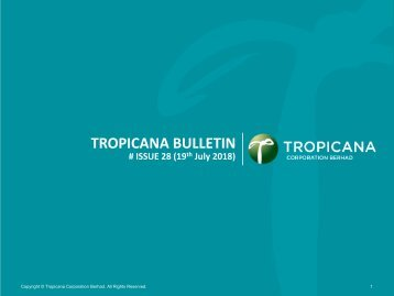 Tropicana Bulletin Issue 28