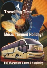 Travelling Time 2019-2020 Brochure