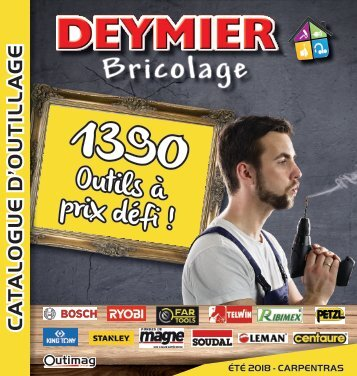 CATALOGUE DEYMIER ETE 2018