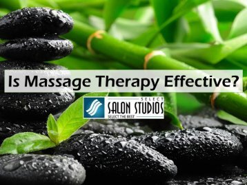 Is Massage Therapy Effective
