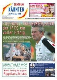 Ausgabe 07.2006 (PDF-Format, ca. 1,6 MB - Zentrum Kärnten in ...