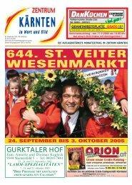 Ausgabe 09.2005 (PDF-Format, ca. 2,6 MB - Zentrum Kärnten in ...