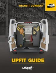 Transit Connect 2014+ Upfit Guide (New)
