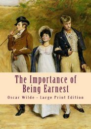 Download PDF The Importance of Being Earnest: Large Print Edition Full