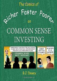 Download PDF The Comics of Richer Faster Poorer on Common Sense Investing: a comic about folks who try to get richer faster and end up poorer Full