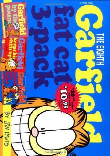 Download PDF Garfield: Fat Cat 3-Pack: Vol 8 (Garfield Fat Cat Three Pack) Online