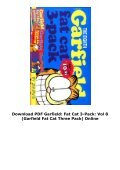 Download PDF Garfield: Fat Cat 3-Pack: Vol 8 (Garfield Fat Cat Three Pack) Online - Page 4