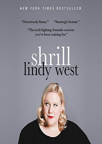 Download PDF Shrill: Notes from a Loud Woman Online