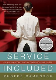 [PDF] Download Service Included: Four-Star Secrets of an Eavesdropping Waiter Online