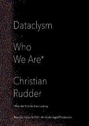 [PDF] Download Dataclysm: Who We Are (When We Think No One s Looking) Online