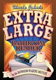 Download PDF Uncle John s Extra Large Bathroom Reader (Uncle John s Bathroom Readers) Full