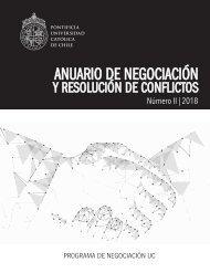 Anuario de Negociación y Resolución de Conflictos II Edición - 2018 - Programa de Negociación UC