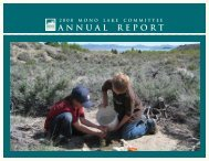 2008 Mono Lake Committee Annual Report