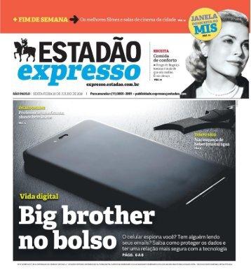 Estadão Expresso - Edição de 20.07.2018
