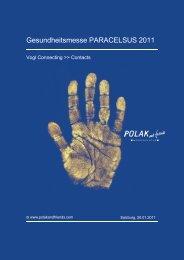 Gesundheitsmesse PARACELSUS 2011 - Paracelsus Messe