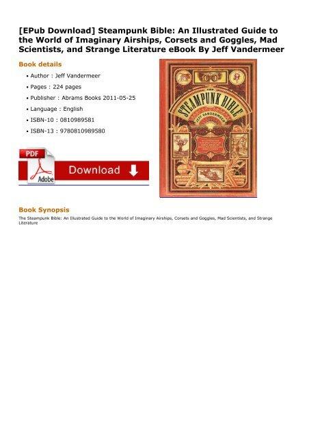 The steampunk bible | steampunk | jules verne.