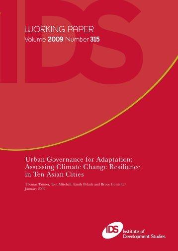 2009 Number315 - PreventionWeb