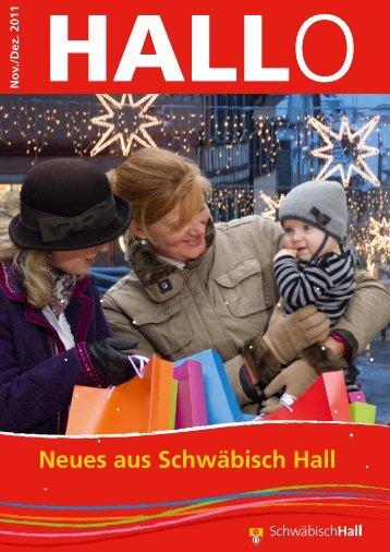 Neues aus Schwäbisch Hall - Stadt Schwäbisch Hall