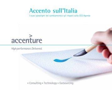 Accento sull'Italia - Accenture