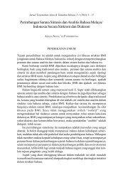 Perimbangan Sarana Sintesis dan Anlitis Bahasa Melayu ... - UKM