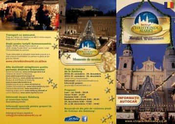 www.christkindlmarkt.co.at INFORMAŢII AUTOCAR