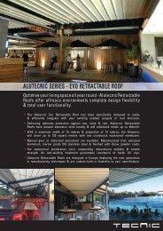 Alutecnic Series - EVO Retractable Roof