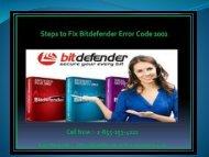 Steps to Fix Bitdefender Error Code 2002