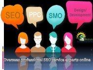 SEO Servies | Overseas professional SEO service experts online