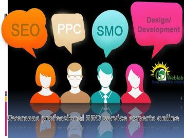 SEO Servies | Overseas professional SEO service experts online
