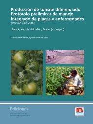 Ediciones Producción de tomate diferenciado Protocolo ... - INTA